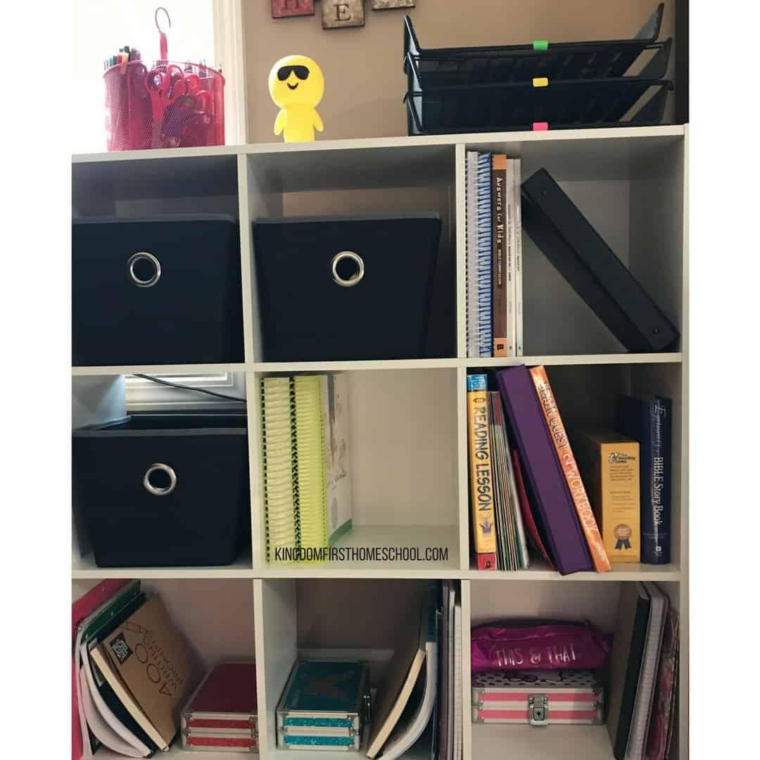 homeschool clutter