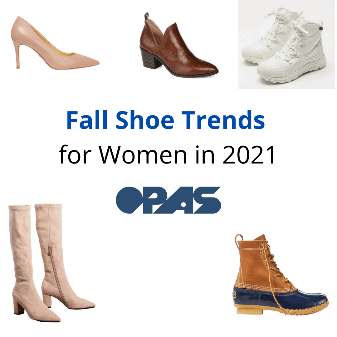 Fall Shoe Trends for Women in 2021