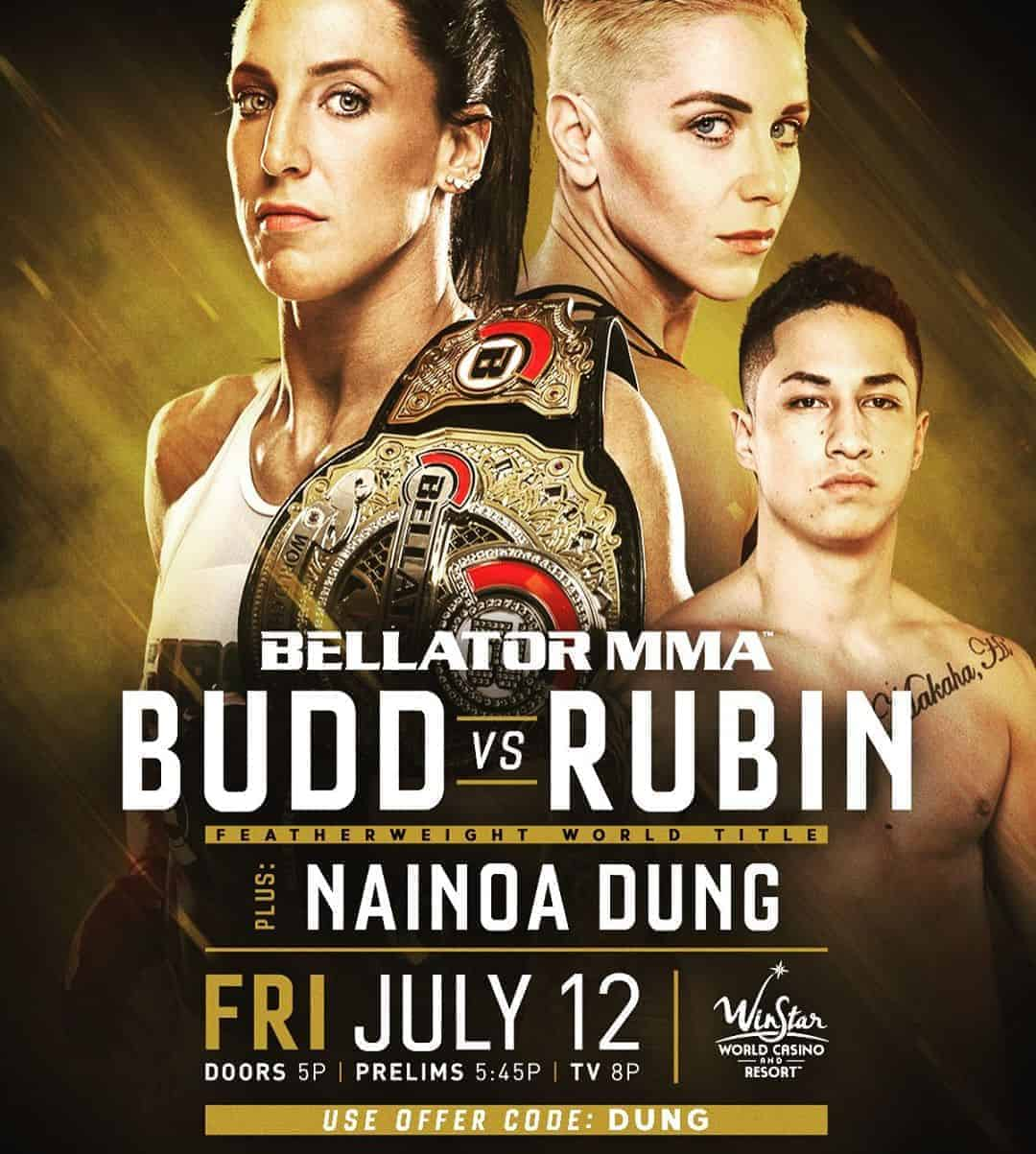 Bellator MMA Nainoa Dung July 12