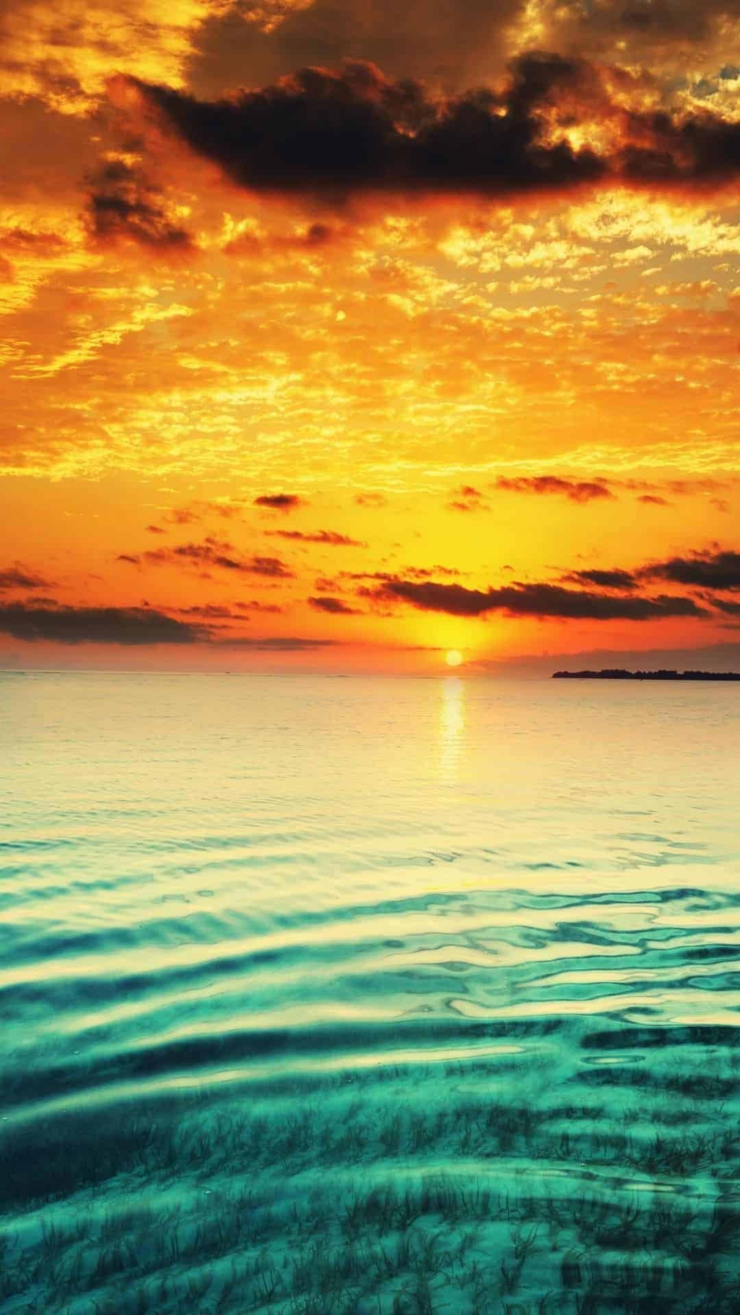 Sunset iphone Wallpaper