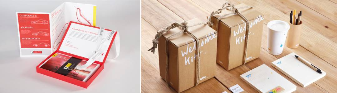 ideas welcome kits for new employees