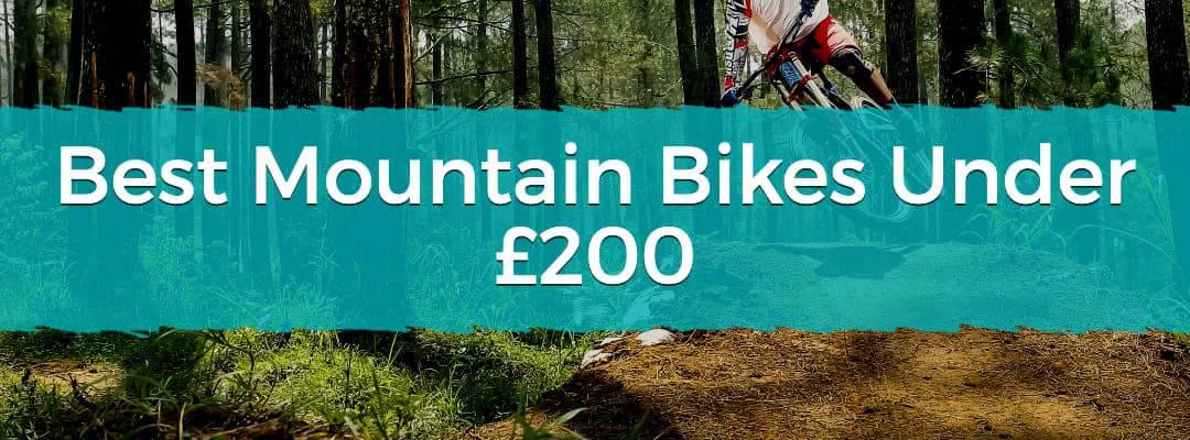 Best Mountain Bikes Under £200