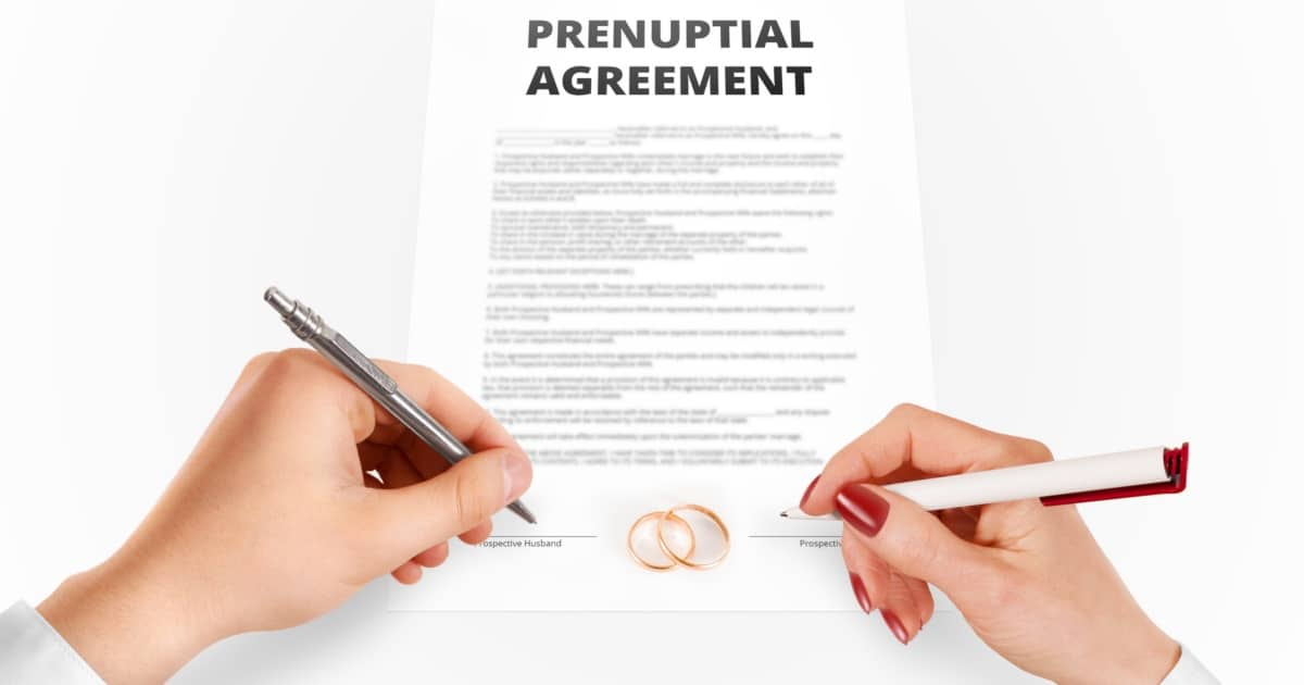 Is a Prenup Agreement a Sure Thing?
