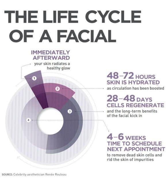 Why I recommend you receive a facial monthly?