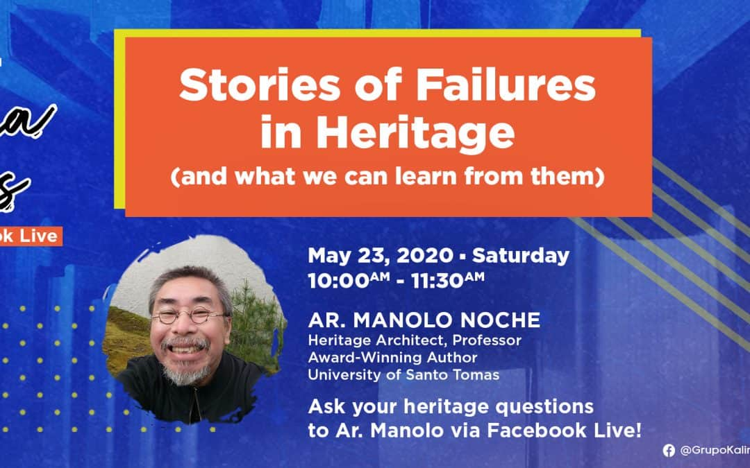 Pamana Talks: Stories of Failures in Heritage