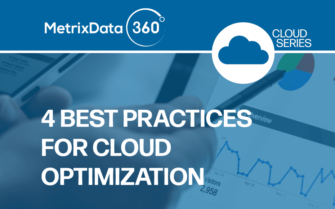4 Best Practices For Cloud Optimization