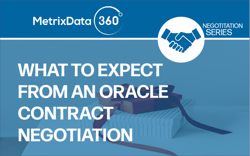 What to Expect from Oracle Contract Renewals