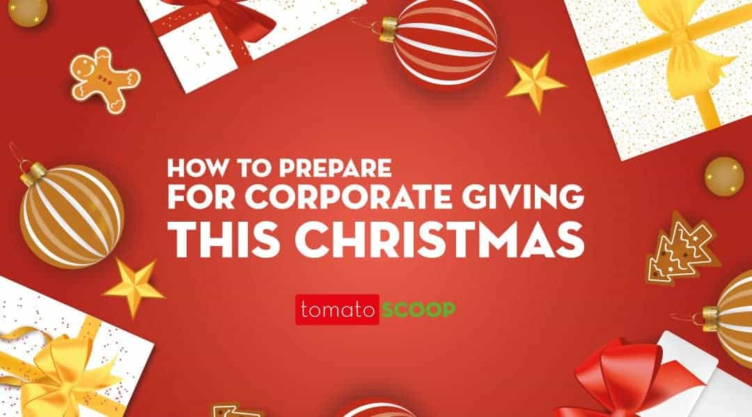 how to prepare for corporate giving this Christmas