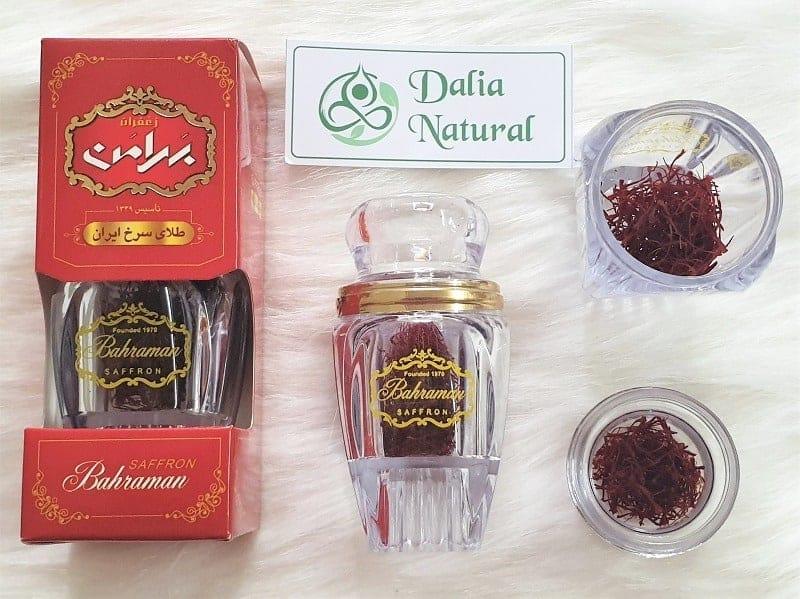 Toàn tập về các loại nhụy hoa nghệ tây iran