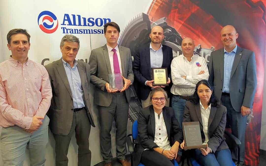 Transdiesel recibe tres premios de Allison Transmission