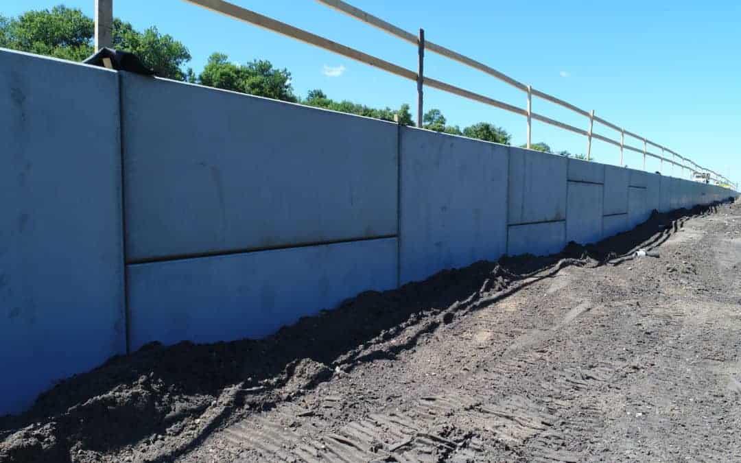 I-94 WisDOT MSE Retaining Walls