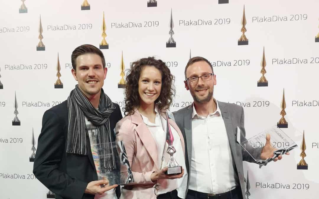 Silber bei der PlakaDiva 2019 für innovative DOOH eBay Kampagne