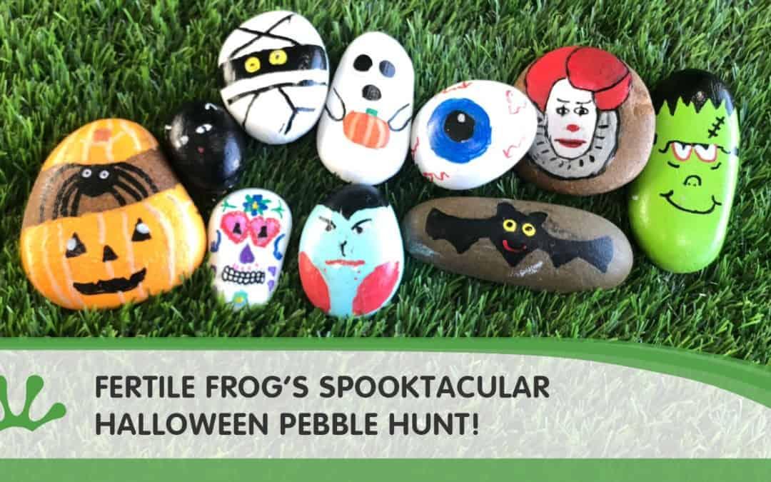 Spooktacular Halloween Pebble Hunt!