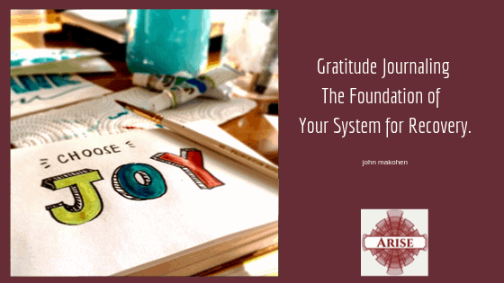 Gratitude Journaling The Foundation of Your System for Recovery.