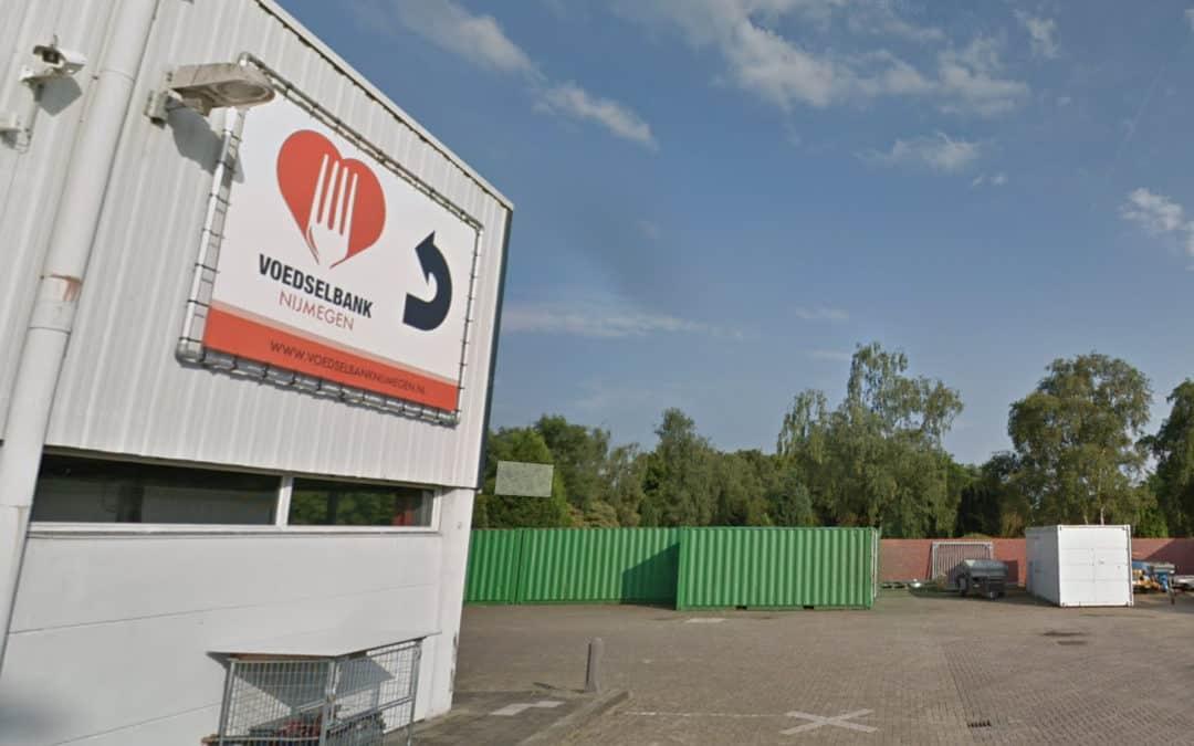 Voedselbank Nijmegen loods