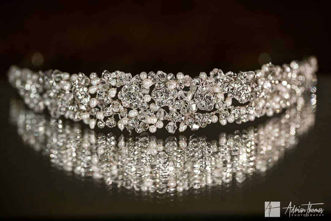 Image of bridal tiara head ware