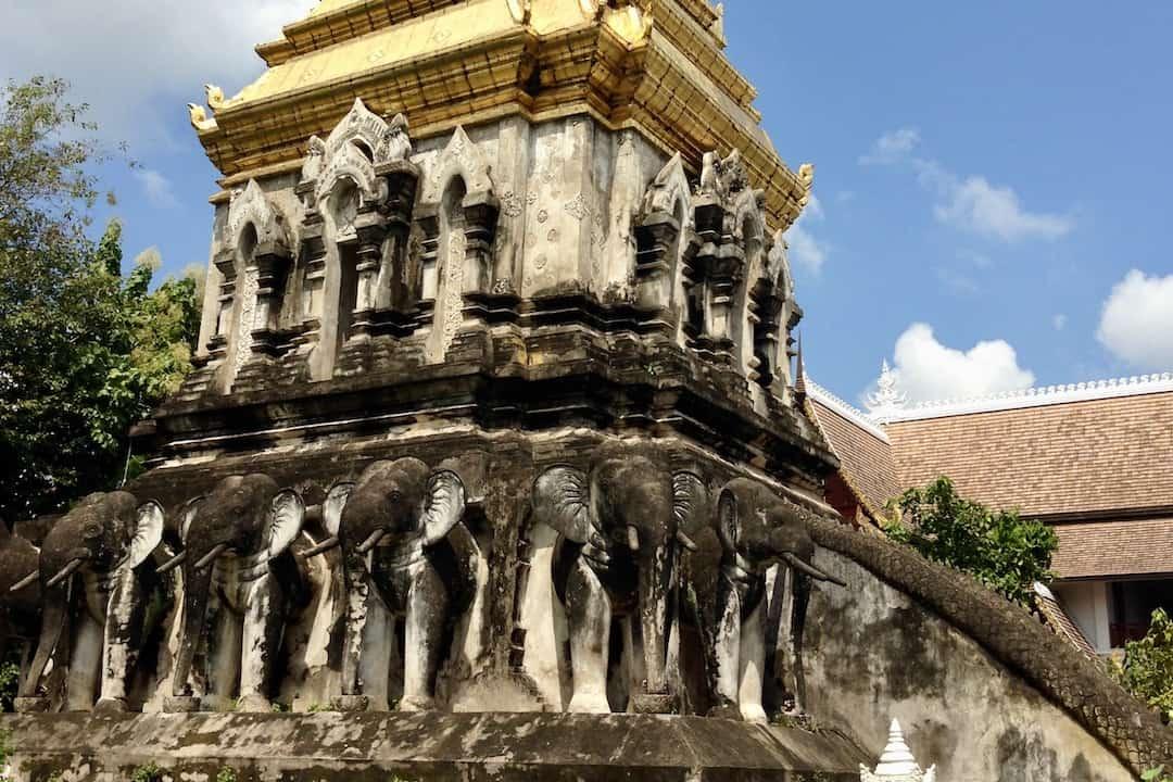 Wat Chiang Man Chiang Mai in Thailand