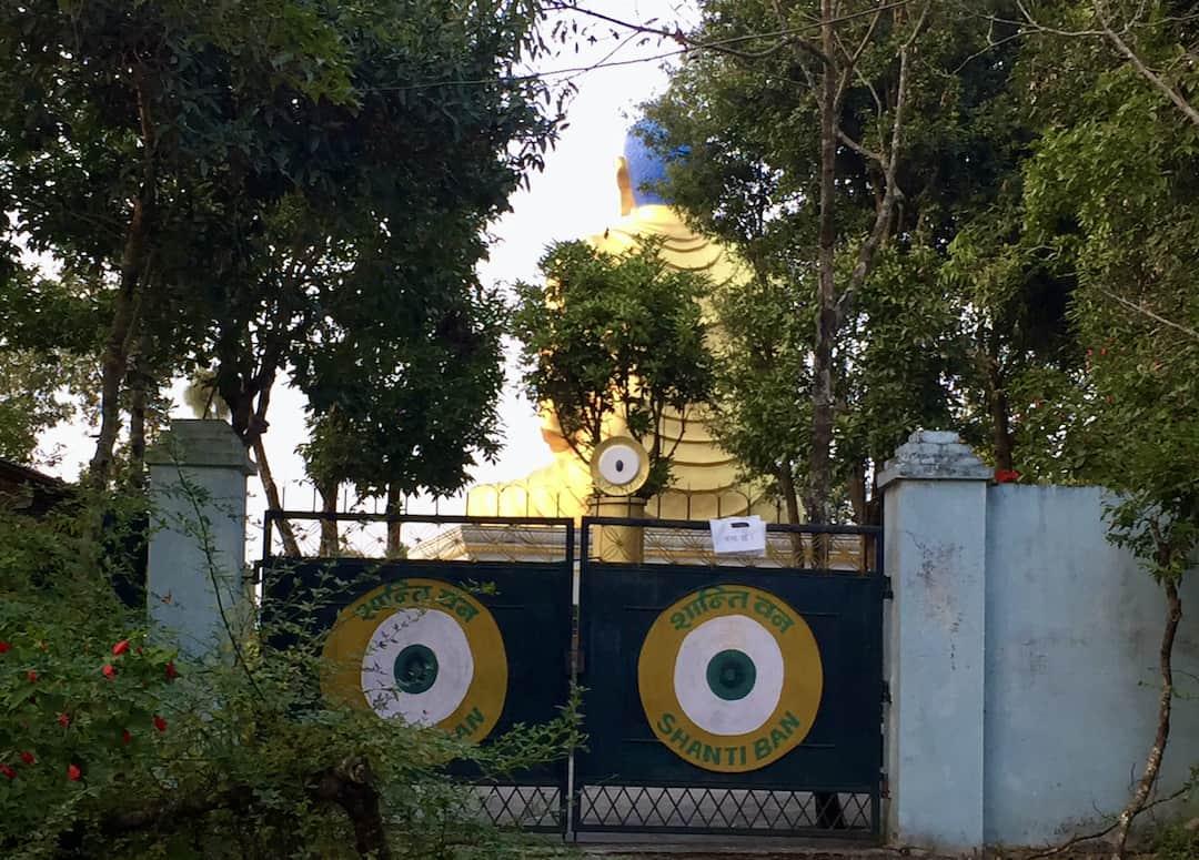 Shanti Ban Buddha Statue in Dhulikhel