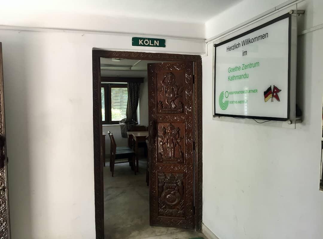 Deutsch lernen am Goethe-Zentrum Kathmandu