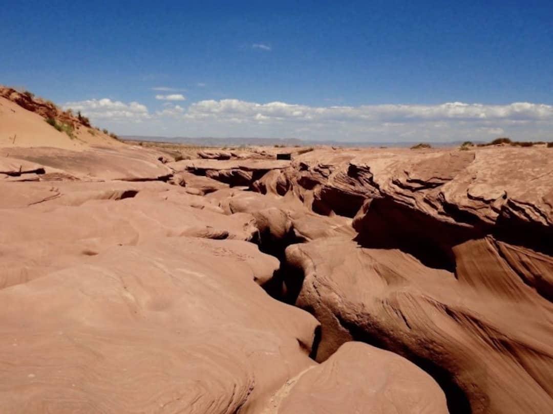 Lower Antelope Canyon Ausstieg Ausgang
