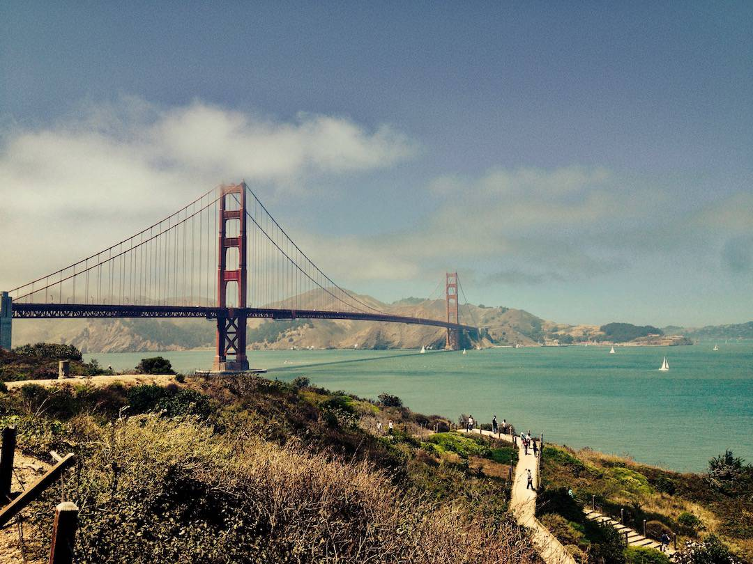 Roadtrip im Südwesten der USA: Golden Gate Bridge, San Francisco