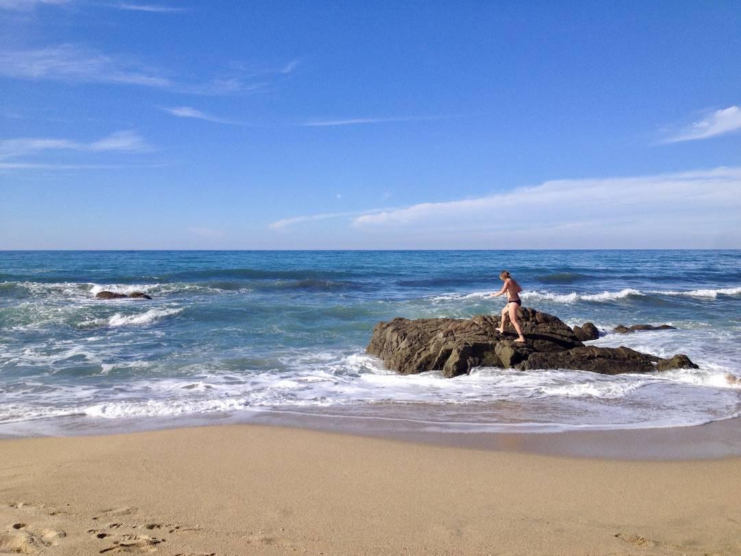 Löst Sehnsucht nach Meer aus: Strand in Mexiko