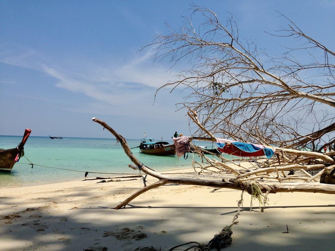 Strand in Koh Phi Phi Thailand