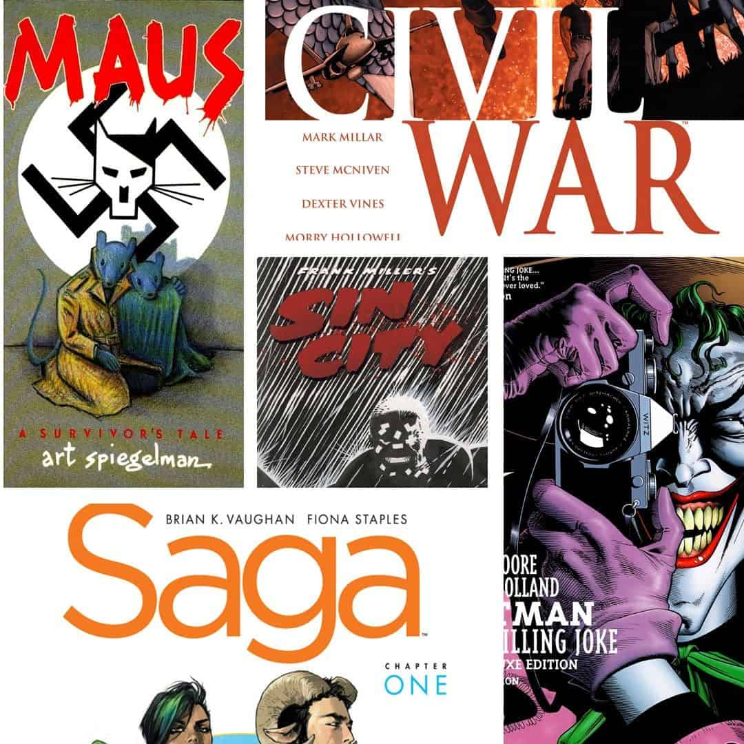 Best Comics and Graphic Novels