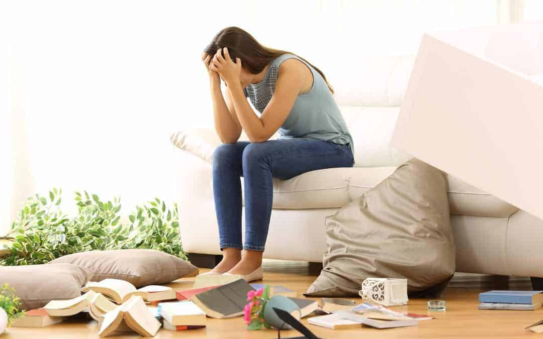 Clearing clutter from your home will help you love your life again