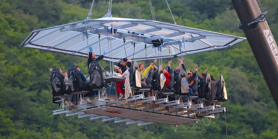 Things to do in Georgia: experience Dinner In The Sky