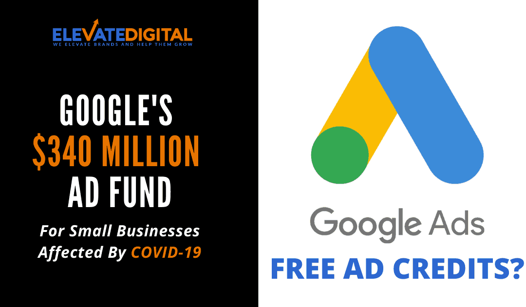 Google Offer $340 Million Ad Credits to SMB's Affected By COVID-19