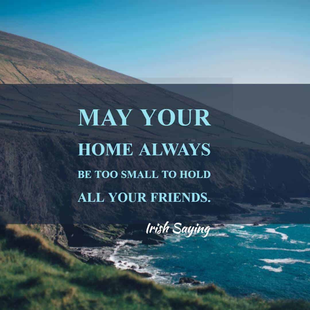 One of 65 Irish sayings