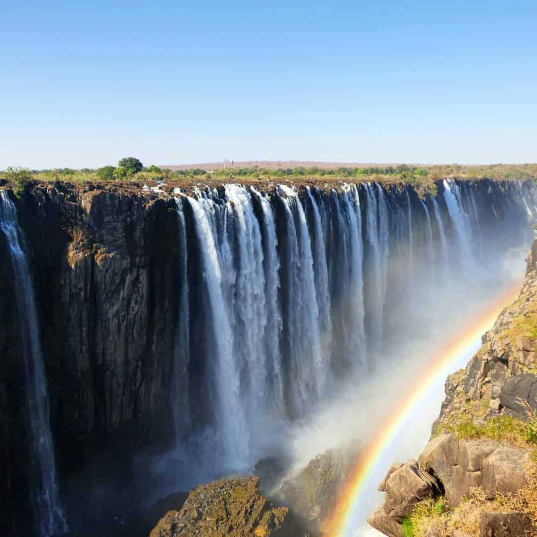 Victoria Falls is one of the best places to visit in Africa