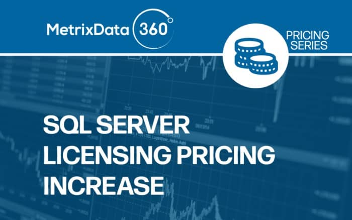 SQL Server Licensing Price Increase