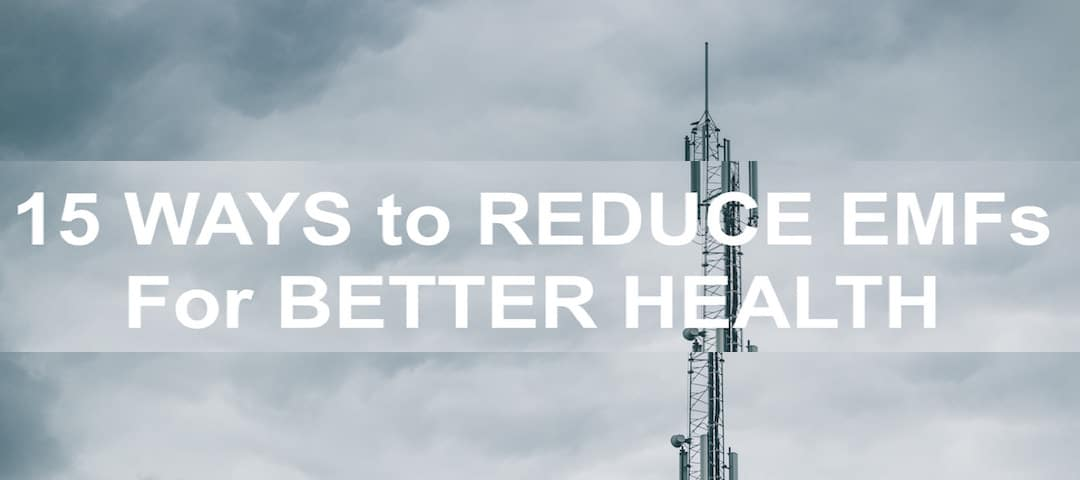 15 ways to reduce EMFs