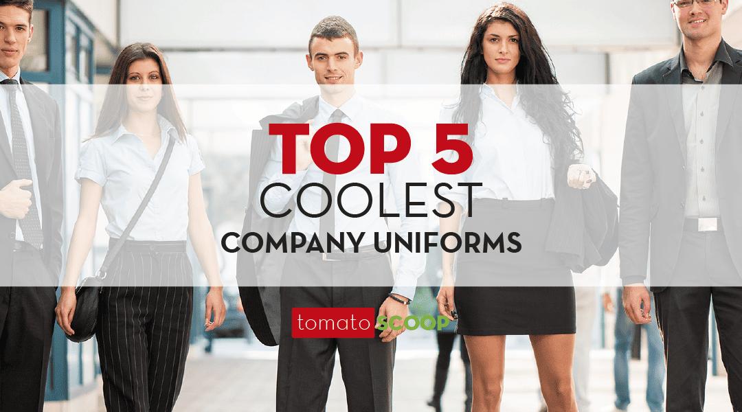coolest company uniforms