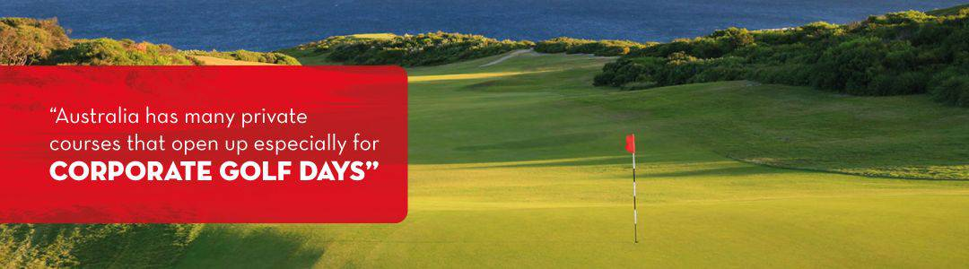 planning corporate golf day