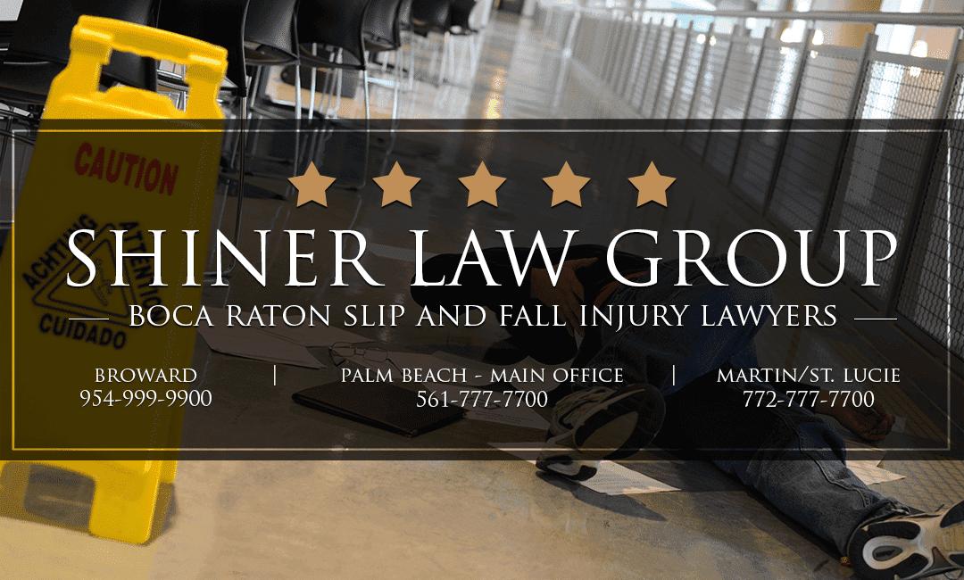 Boca Raton Slip And Fall Attorneys