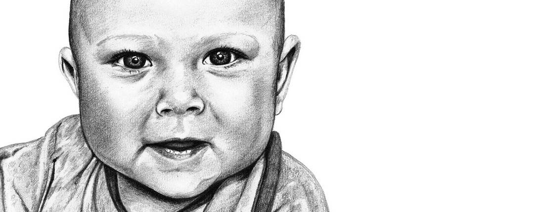Drawing of Baby Boy