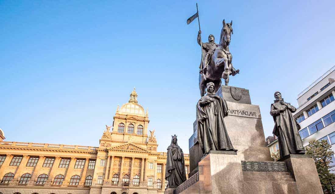 Памятник Святому Вацлаву