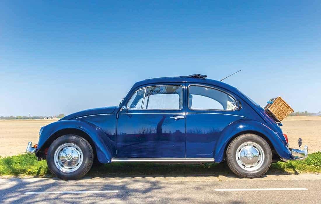 Классический Volkswagen Beetle