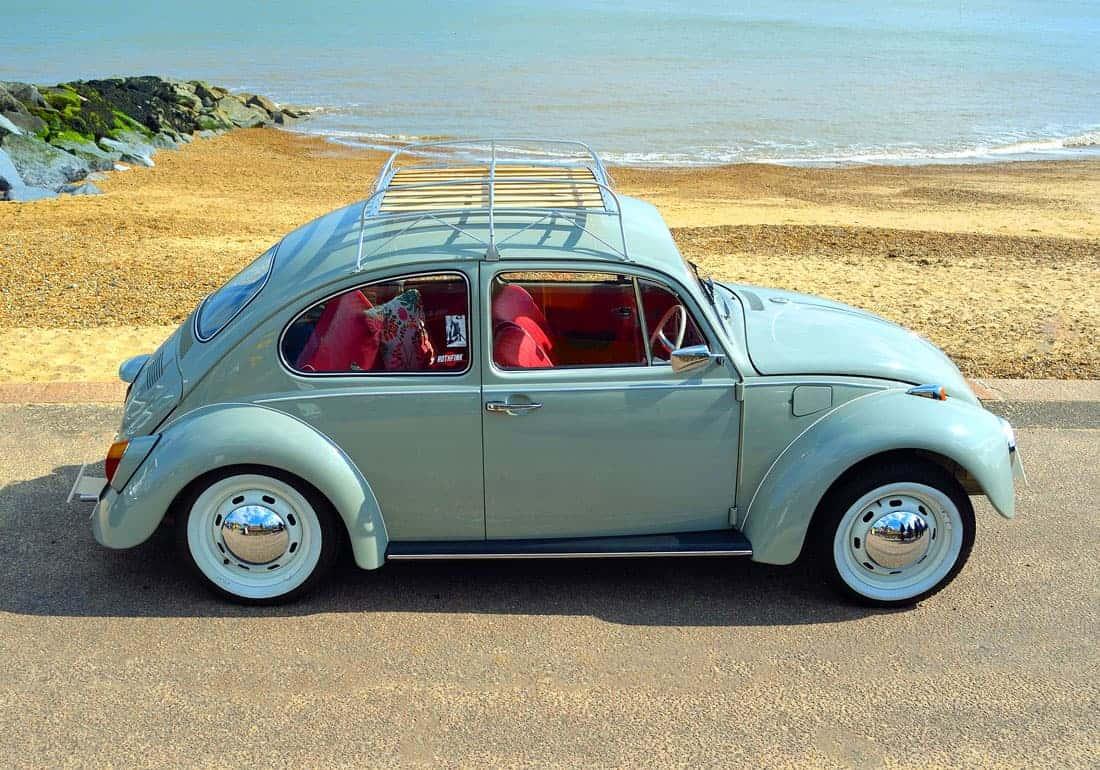 Ретро Volkswagen Beetle