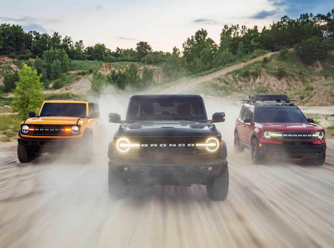 Семейство внедорожников Форд Бронко 2021. Ford Bronco