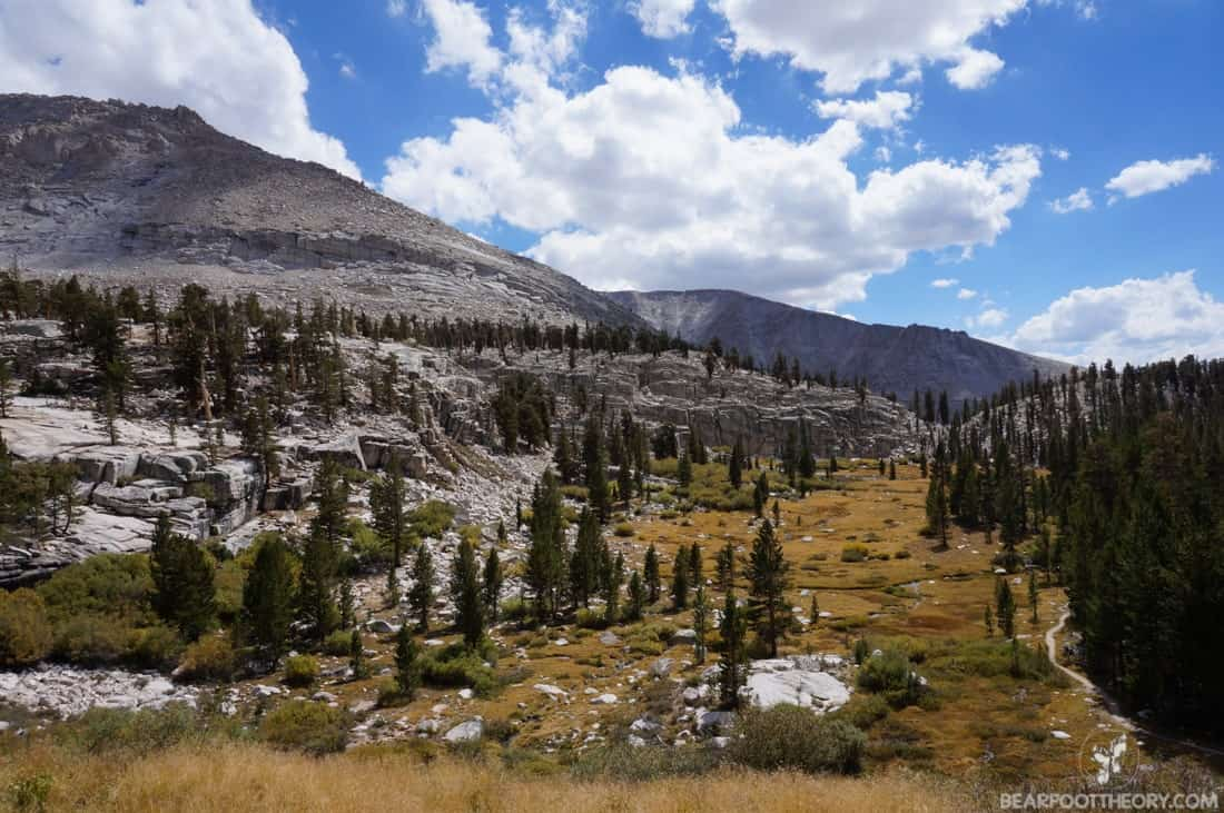 John Muir Trail Trip Report: Crabtree Meadow