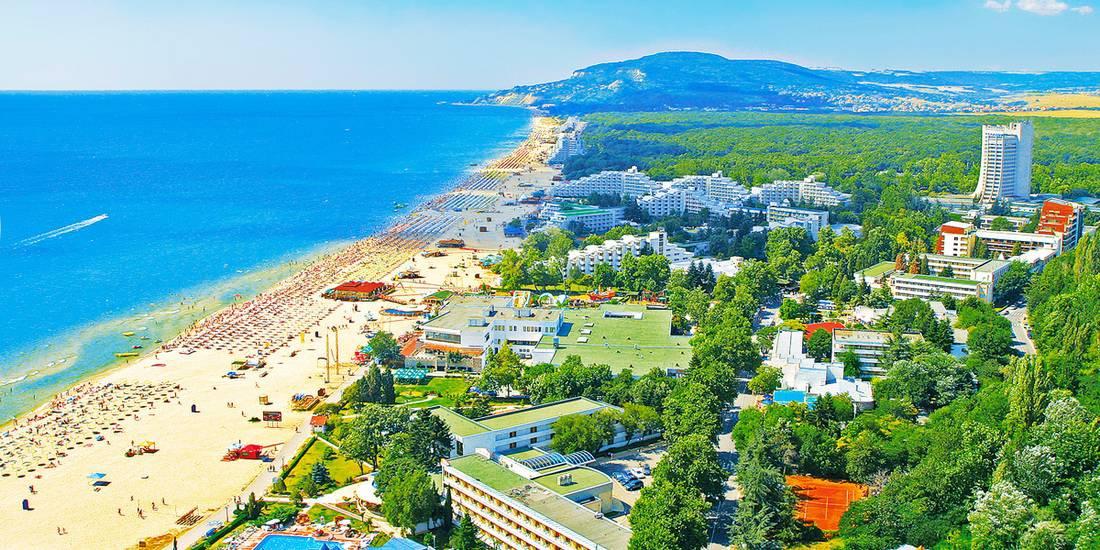 albena mejor playa del mar negro