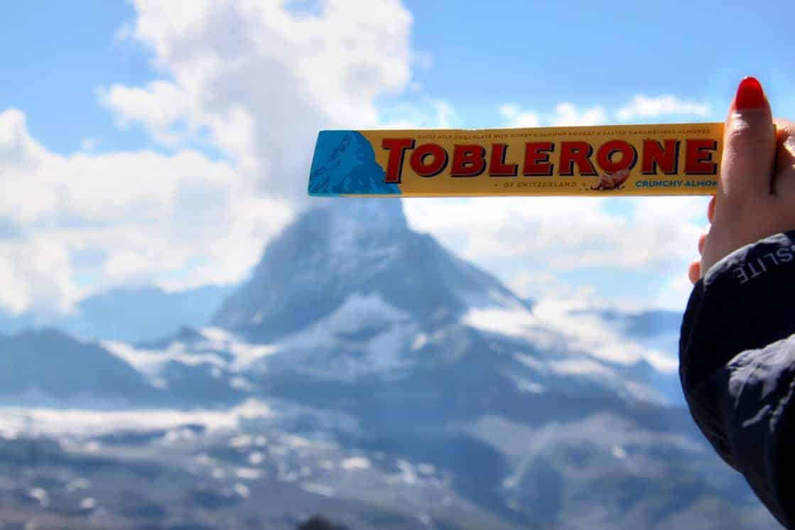 Switzerland is known for its chocolate - how romantic!