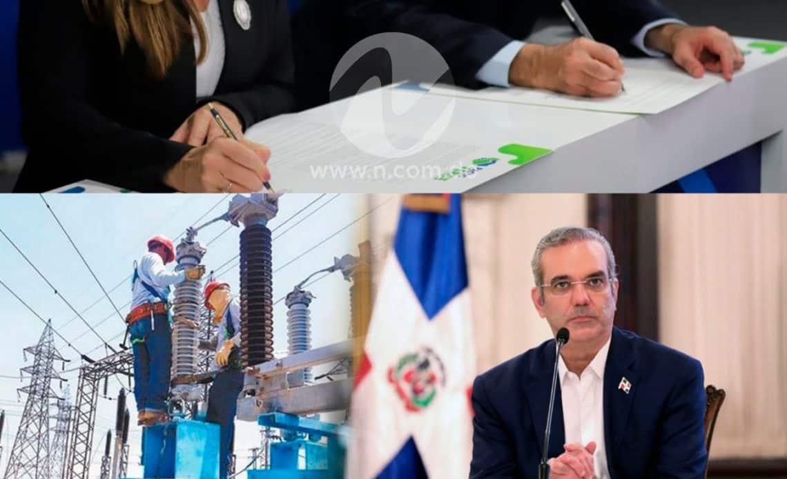 Abinader justifica el pacto eléctrico