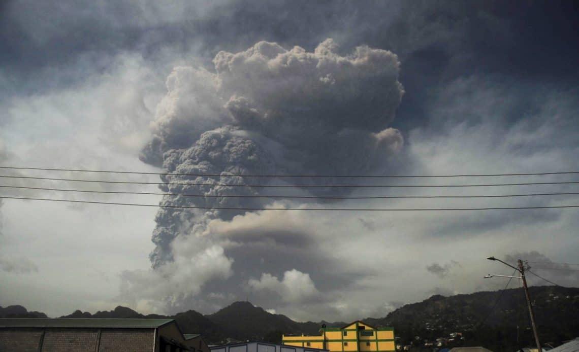 Cenizas volcán.