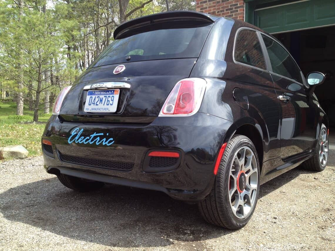 McLean Electric Fiat 500