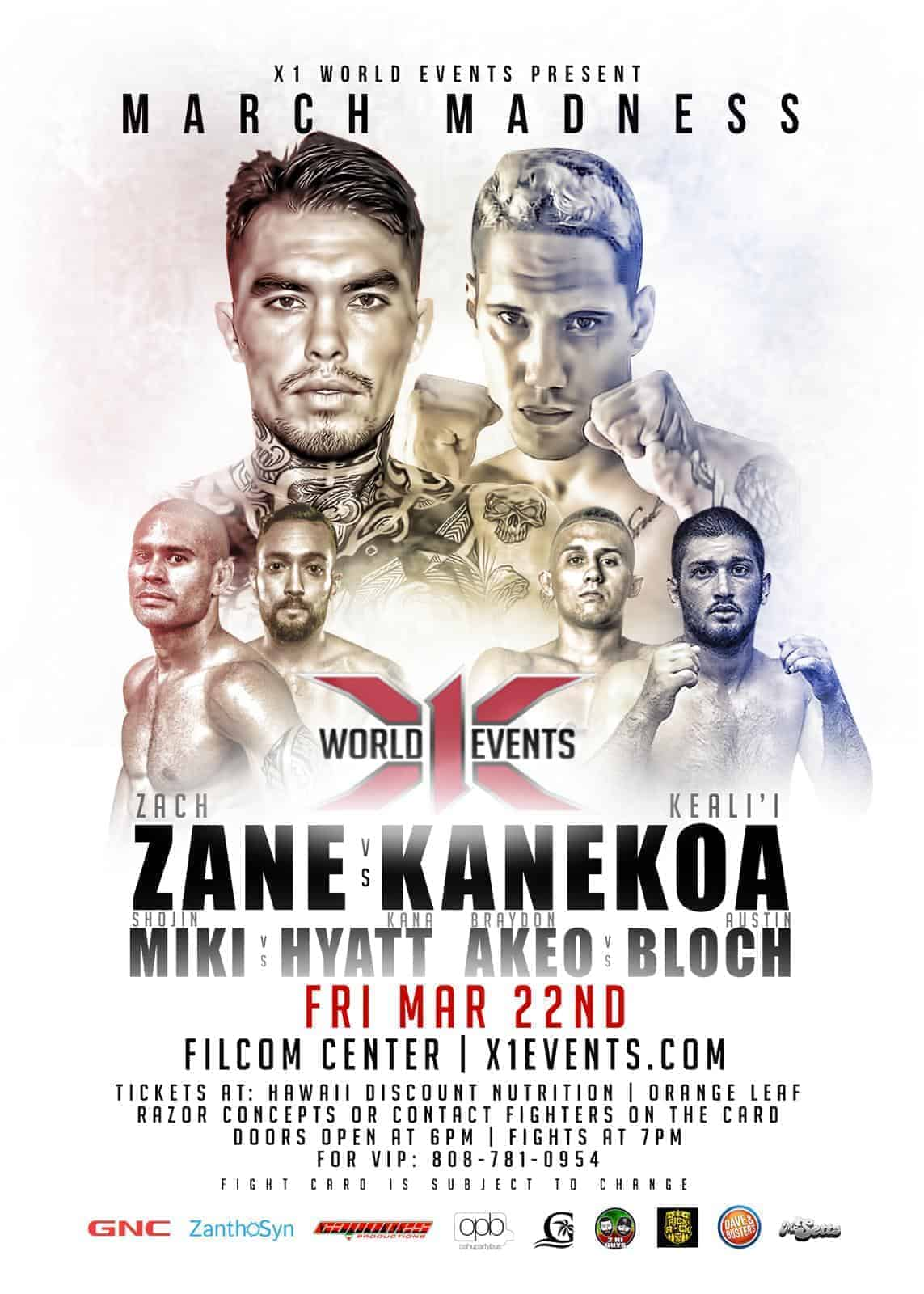 x1 52 mma poster